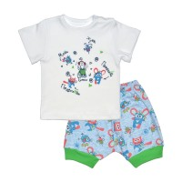 Комплект детский (футболка, шорты) арт. 017/632и