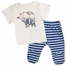 Комплект детский (футболка, ползунки) арт. 017/515к