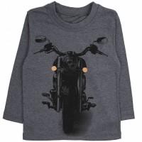 Джемпер для мальчика арт. 033к темно-серый