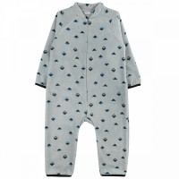 Комбинезон флисовый детский арт. 0991600402 серый