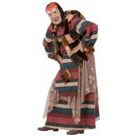 """Карнавальный костюм """"Баба Яга лесная"""" для взрослых арт. 1102"""