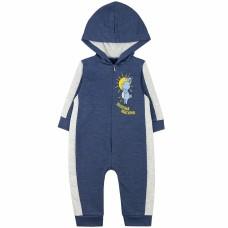Комбинезон детский с микроначесом арт. 11023001 синий