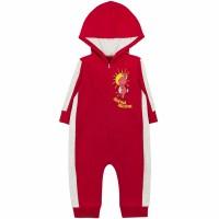 Комбинезон детский с микроначесом арт. 11023001 красный