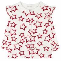 Кофточка детская арт. 1165/18и красные звезды