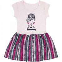 Платье арт. 395к/м ап розовый