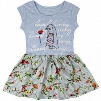 Платье арт. 0395100102 голубой