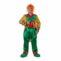 """Карнавальный костюм """"Клоун Кеша"""" для взрослых желтый арт. 6006"""