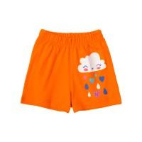 """Шорты для девочки арт. SM656-3 """"Orange cloud"""""""
