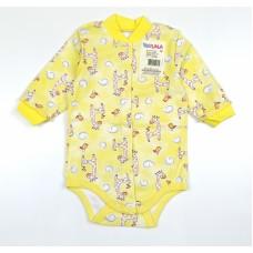 Боди детское арт. 00772001 желтый