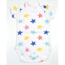 Боди детское арт. 9-117 звезды