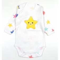 Боди детское арт. 10-118 звезды