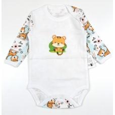 Боди детское арт. 10-118 тигрята