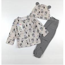 Комплект детский (кофточка, ползунки и шапочка) арт. 6001203802