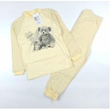 Пижама арт. 1713 желтый