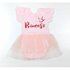 Боди-платье арт. 37-117 розовый