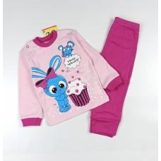 Комплект детский арт. КМ-1413 светло-розовый