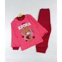 Комплект детский арт. КМ-1413 розовый