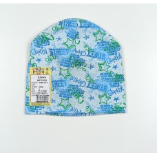 Шапка детская арт. ШП21-014 голубой