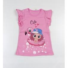 Фуфайка детская арт. ФД-1622 розовый