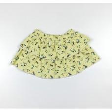Юбка для девочки арт. 20121 желтый