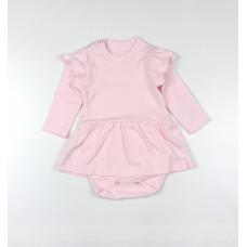 Боди-платье арт. 36-119 розовый