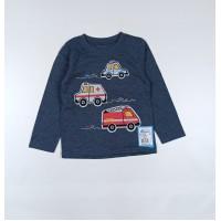 Джемпер для мальчика арт. 033/2к синие машинки