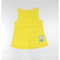 Майка для девочки арт. 262к желтый
