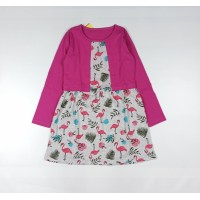 Платье детское арт. ПЛ-719 фламинго