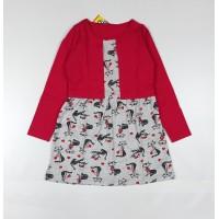 Платье детское арт. ПЛ-719 кошки