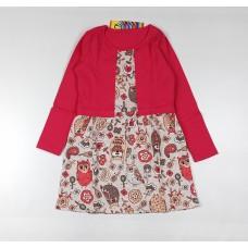 Платье детское арт. ПЛ-719 совы