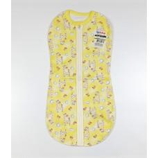 Пеленка-кокон арт. 07802001 желтый