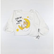Распашонка детская арт. КЛ.110.008.0.205.005 белый