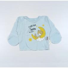 Распашонка детская арт. КЛ.110.008.0.205.005 голубой