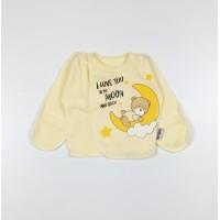Распашонка детская арт. КЛ.110.008.0.205.005 желтый