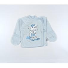 Распашонка детская арт. КЛ.110.005.0.251.011 голубой
