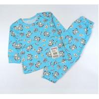 Пижама арт. 04331001 голубой