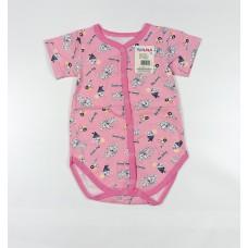 Боди детское арт. 237к розовый собачки