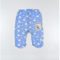 Ползунки детские арт. 00092001 голубой с белыми звездами