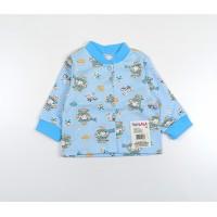 Кофточка детская с микроначесом арт. 001ф голубой