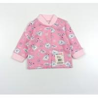 Кофточка детская с микроначесом арт. 001ф розовый