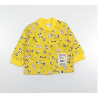 Кофточка детская с микроначесом арт. 001ф желтый