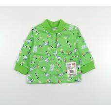 Кофточка детская с микроначесом арт. 001ф зеленый