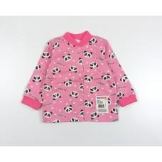 Кофточка детская с микроначесом арт. 001ф панды розовый