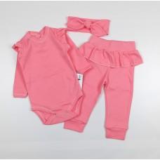 Комплект (боди, штаны, повязка) арт. 31-119-2