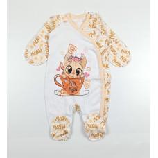 Комбинезон детский арт. KIT0001 оранжевый
