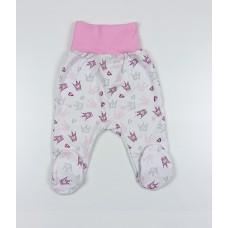 Ползунки детские арт. LBB004 розовый