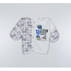 Распашонка детская арт. KL007 серый