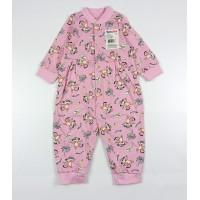 Комбинезон детский арт. 192к розовый обезьянки