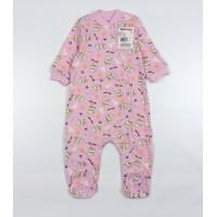 Комбинезон детский арт. 120к розовый собачки