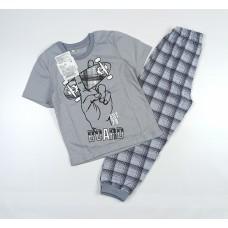 Пижама детская арт. ПЖ-2 серый
